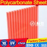 8mm het Transparante Blad van het Polycarbonaat met de UVSerre van de Bescherming