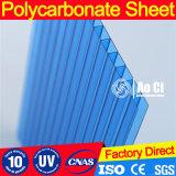 Folha de policarbonato de folha oca de plástico PC