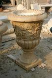 POT di marmo della pietra della piantatrice dei POT europei