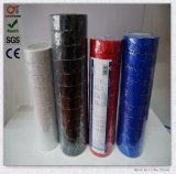 Nastro elettrico dell'isolamento del PVC dell'alto adesivo variopinto di Quanlity di estensione