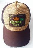 Boné de beisebol acrílico de lã Camo com remendo bordado