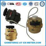 Medidor de água Volumetric de bronze com saída de pulso Dn15