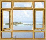 De Samengestelde Houten Openslaand ramen van het aluminium