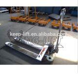 Camion di pallet idraulico manuale dell'acciaio inossidabile