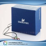 Caixa de empacotamento de papel do cartão luxuoso para o presente/jóia/cosmético (XC-3-008)