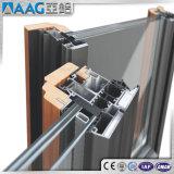 Perfil de alumínio/de alumínio da extrusão da parede/fachada de cortina