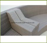 Софа синтетической мебели сада ротанга PE напольная