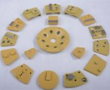 Sapatas de moedura concretas P06 da placa de moedura de PCD/PCD