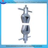 Macchina di prova universale di deformazione di resistenza alla trazione del servomotore di verticale per gomma