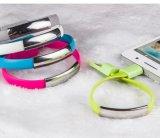 V8 androïde universel pour le câble usb de remplissage de micro de caractéristiques de téléphone mobile de bracelet de Samsung 22cm