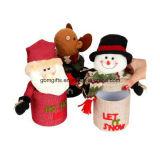 Decoração interna do boneco de neve de vidro do Natal do estilo de Europa