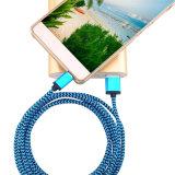 Cavo del caricatore di dati del USB per il iPhone Samsumg con nylon coperto