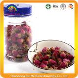 Híbridos de té chino con los brotes de Rose y pétalos de rosa