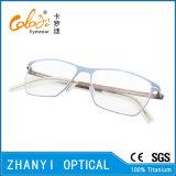 Monocolo di titanio Eyewear (9108-EW) del blocco per grafici di vetro ottici del Pieno-Blocco per grafici leggero variopinto