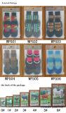 Les produits non-toxiques d'animal familier de PVC imperméabilisent les chaussettes élevées antidérapantes de crabot