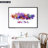 Impressionnisme New York City Abstract Wall Art