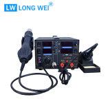 Lw8503D 3 в 1 горячем воздушном пульверизаторе с паяя станцией с электропитанием DC