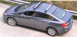 A cremalheira da plataforma da bandeja do telhado do carro carreg a bagagem da caixa