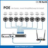 Ponto de entrada NVR da rede do sistema de alarme 16CH 4MP
