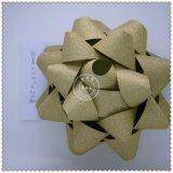 Curva plástica por atacado Handmade da fita da estrela da decoração