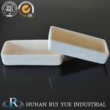 Crogioli di ceramica dell'allumina resistente a temperatura elevata