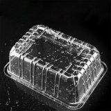Caixa de empacotamento da bolha do supermercado plástico transparente da fruta e verdura do animal de estimação
