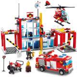 Blocs de plastique de station d'avion d'incendie pour des gosses