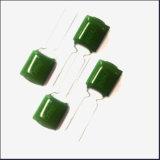 Condensador verde de la película de poliester de Mylar Pei del condensador de Cl11 2A 222j China Mylar