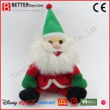 채워진 산타클로스 아버지 크리스마스 장난감