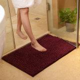 Estera coloreada del cuarto de baño/de la cocina del Chenille/alfombra antirresbaladizas del suelo