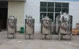 Aço inoxidável 304/316 Tanque de armazenamento de água sanitária líquido e estéril