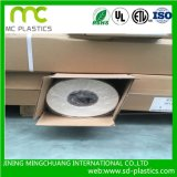 Nueva textura del papel de empapelar de la base de la impresión, papel pintado del PVC