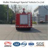 4ton Dongfeng innerer Becken-Wasser-Typ Löschfahrzeug-LKW-Euro 4