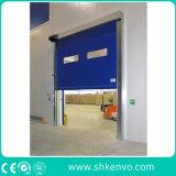 Puerta rápida autorreparadora del rodillo de la tela del PVC para el almacén