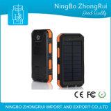 Côté universel 8000mAh 1000mAh d'énergie solaire du meilleur de vente de téléphone mobile Portable de chargeur