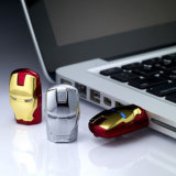 USB d'homme de fer de 2.0 assez de carte mémoire Memory Stick d'instantané de crayon lecteur vengeurs d'entraînement