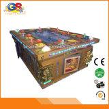 Reyes de la huelga del tigre de la arcada de la máquina de juego de los pescados del tesoro