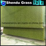 Espessura sintética do gramado 25mm para o assoalho ao ar livre
