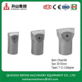 45mm Cemented Carbide Insert Chisel Horse Bit For Rock Drilling