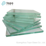 vidrio de flotador claro de 1.9mm-25m m para Windows, puertas (C-TP)