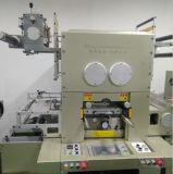 Etiqueta adhesiva automático de estampado en caliente máquina troqueladora