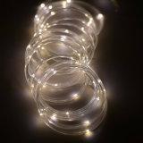 Wasserdichtes Seil-feenhafte Zeichenkette beleuchtet 8 Modus-Weihnachtsbaum-Weihnachtspartei-Garten-dekorative Beleuchtung