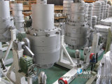 Produzione di plastica del tubo di irrigazione del PE che si sporge facendo la riga del macchinario