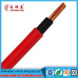 Fio de cobre isolado PVC TW Thw Thhn #10 12 fio 8 14 elétrico