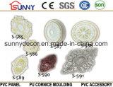 PUの天井の円形浮彫りのタイルか装飾的な天井の円形浮彫りまたはポリウレタンコーニスの鋳造物