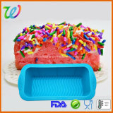 Лоток торта хлебца силикона здравицы печенья прямоугольника