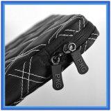 若者デザインラップトップの袖袋、携帯用ラップトップのブリーフケースは、カスタム格子ステッチのラップトップハンド・バッグを運ぶ