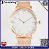 Изготовленный на заказ тавро неподдельной кожи способа wristwatches Yxl-233 наблюдает вахту женщин бизнесменов повелительниц