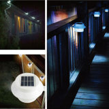 3 LED-Solarwand-Licht-Zaun-Beleuchtung-Lampe