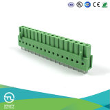 Utlの製造5.0mmピッチ電気ねじクランプ端子ブロック